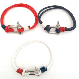 Commodore Slim Shackle Bracelets